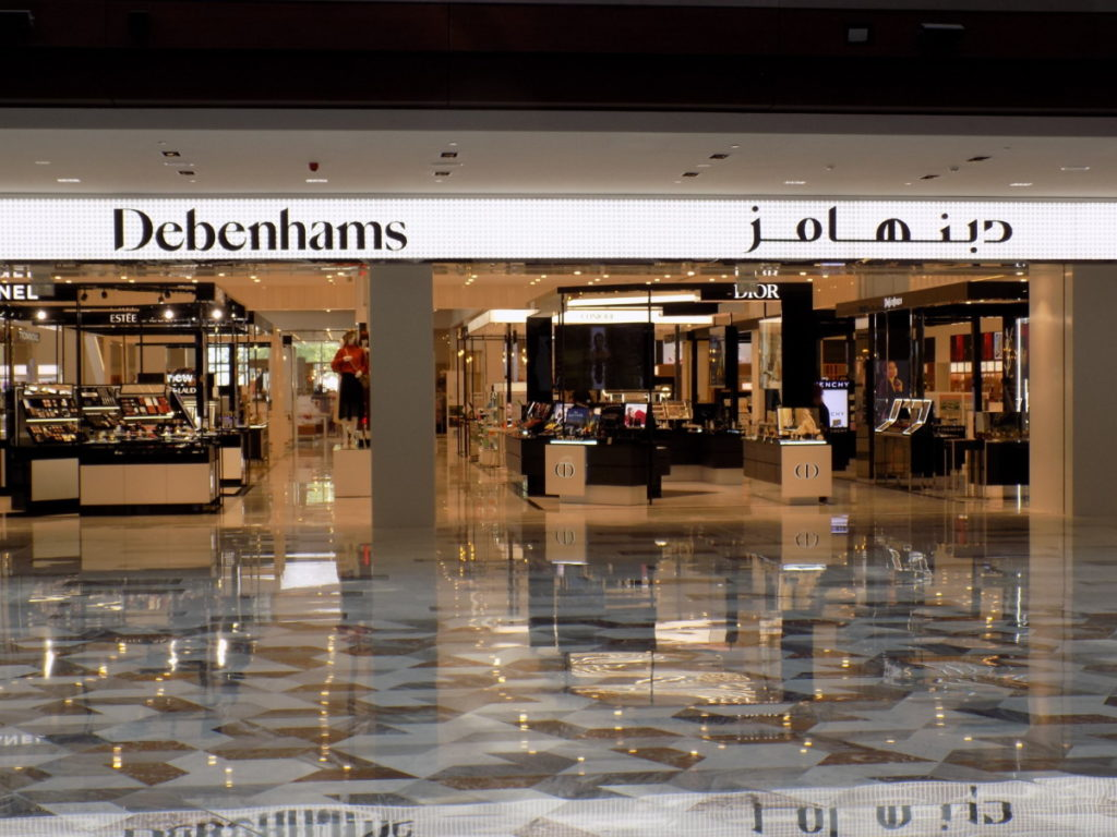 You can now shop at 34,374sq ft Debenhams store in Mall of Muscat!