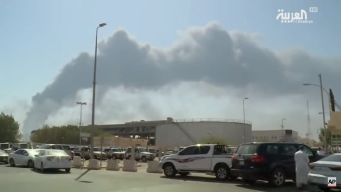 drone strike saudi aramco