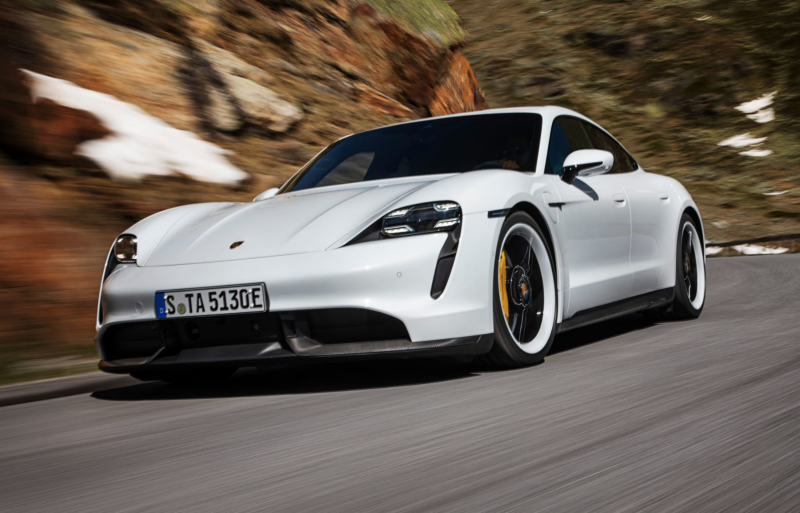 Porsche's $150,000 Electric Taycan Turbo Is Aimed Right at Tesla