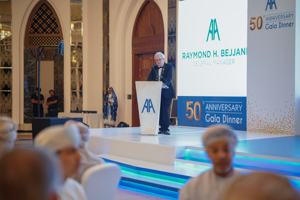AA Group celebrates 50 years of excellence with gala dinner
