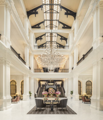 Iconic Raffles Hotel Singapore officially reopens with pomp and grandeur