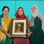 Kavitha presents Tanjore Painting