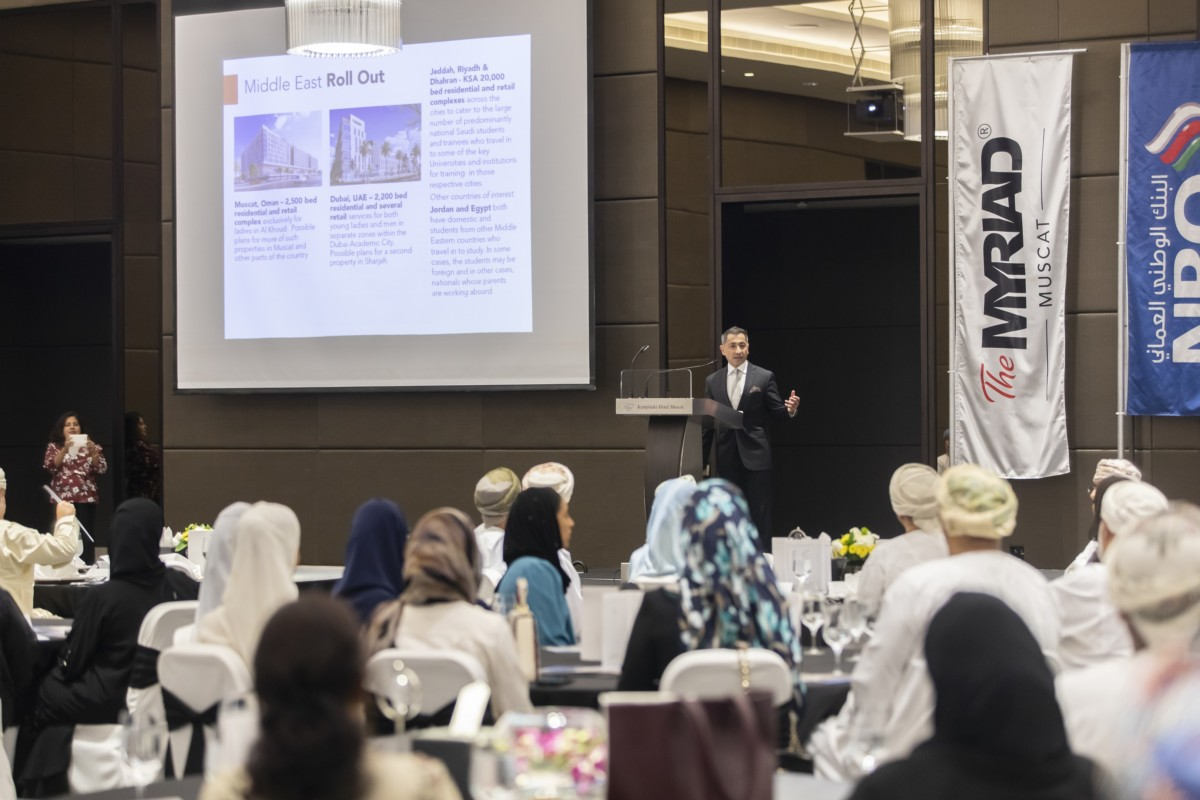 'The Myriad Muscat', first-of-its-kind all-women, students living complex officially launched