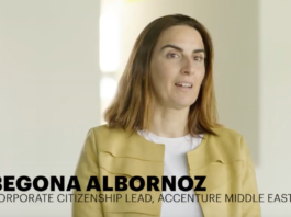 BusinessLiveME Introducing Begona de Albornoz – Corporate Citizenship Lead, Accenture, ME & Turkey