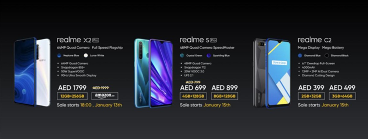 Realme Enters UAE Market With Flagship Smartphones: Know Price, Features & More