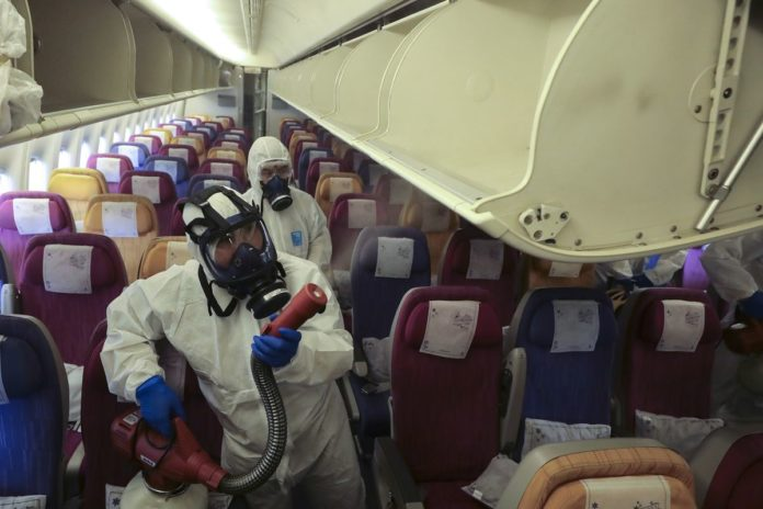 Airlines Deploy Herpes Killer to Wipe Virus Out of Cabins