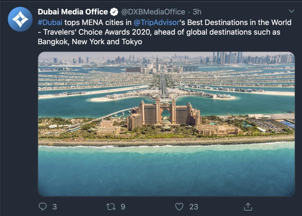 Dubai Tops List Of Arab Cities For Expat Living, Says Survey