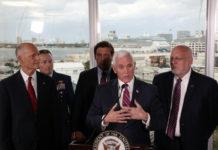 Pence Says Seniors Should Avoid Cruises as Virus Precaution