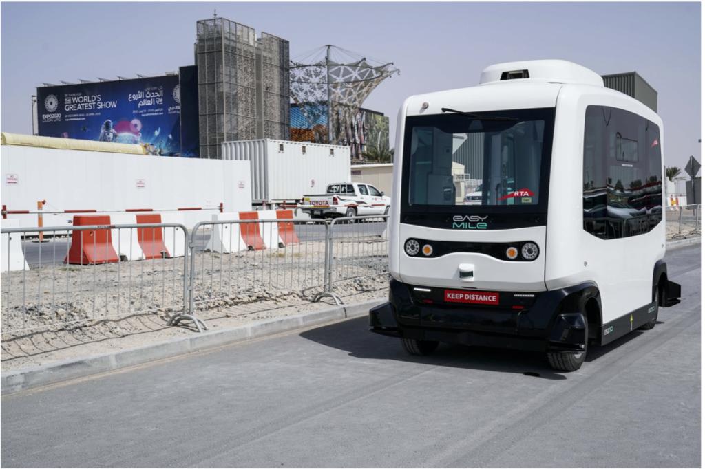 Trial Run of Autonomous Vehicle Begins at Expo 2020 Dubai Site