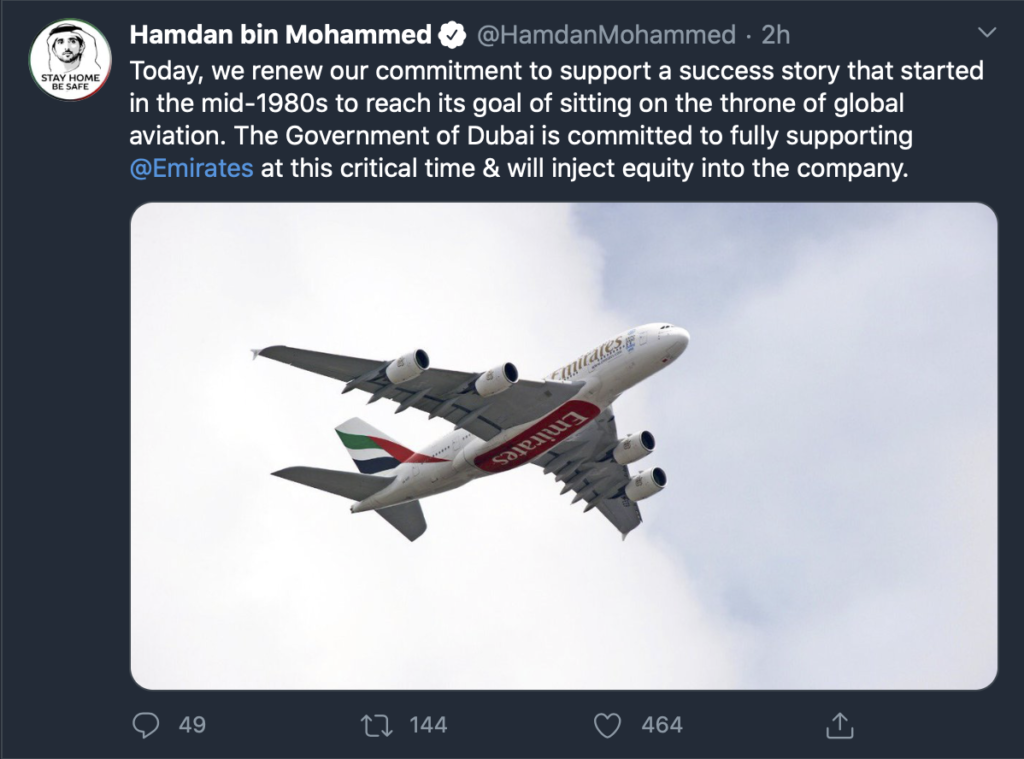Dubai Government Committed to Supporting Emirates, Affirms Sheikh Hamadan
