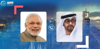 Mohamed bin Zayed, Prime Minister of India review international developments