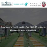 Department of Health provides free COVID-19 testing in high-density areas in Abu Dhabi