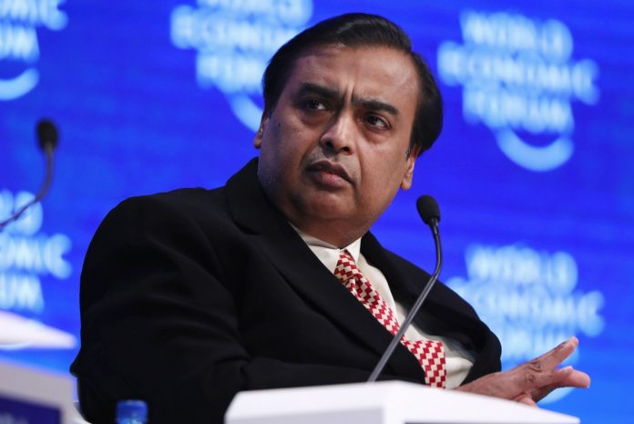 Ambani Prepares Facebook-Backed Unit for Overseas IPO
