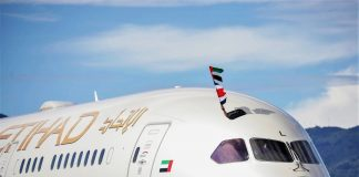 Etihad Airways operates goodwill flight to Costa Rica