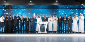Emirates NBD rings market-opening bell to celebrate listing of $750 million bond on Nasdaq Dubai
