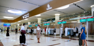 Emirates enhances airport experience with self check-in kiosks in Dubai