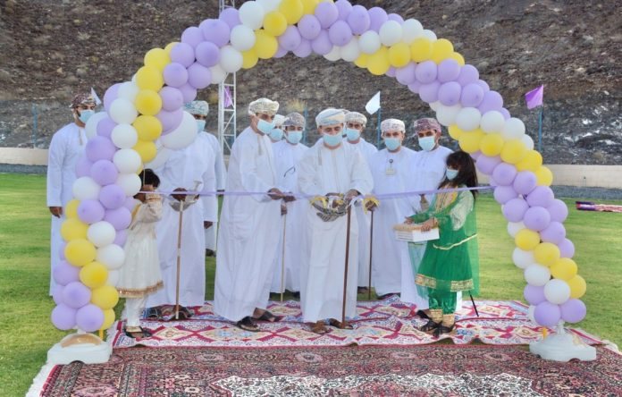 Bank Muscat celebrates the opening of Green Sports stadium for Al Mustaqbal Club in Bahla
