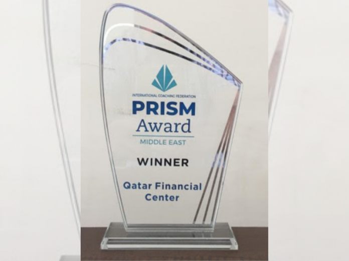 Qatar Financial Center, Oman India Fertilizer Company and Dubai Airports were celebrated at the first-ever virtual ICF Middle East Prism Award event