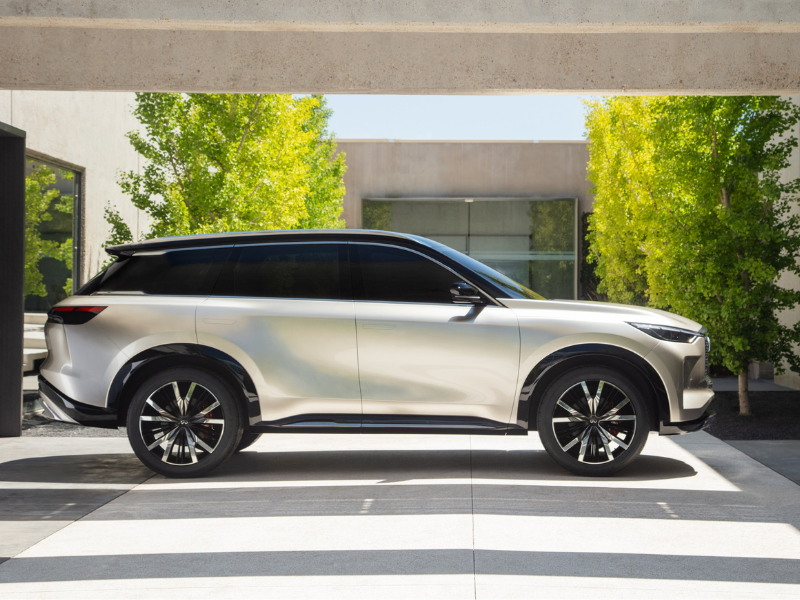 INFINITI QX60 Monograph unveiled: Bold design sets tone for upcoming luxury SUV