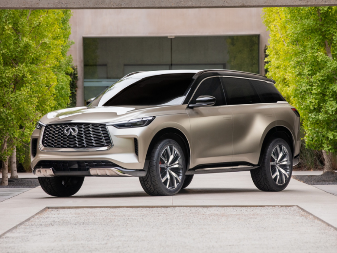 INFINITI QX60 Monograph previews design of next-generation three-row SUV