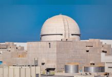 Unit 1 of Barakah Nuclear Energy Plant reaches 50% power