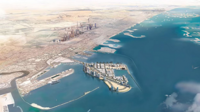 """Dubai Maritime City marks 70% completion of Phase I of infrastructure works"" is locked Dubai Maritime City marks 70% completion of Phase I of infrastructure works"