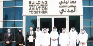 "Wizz Air Abu Dhabi receives its Air Operator Certificate شركة ""ويز إير أبوظبي"" للطيران الاقتصادي تحصل على شهادة المشغل الجوي"