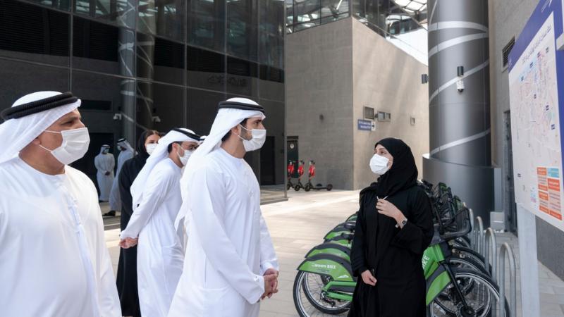 Hamdan bin Mohammed inaugurates new generation of Bus Stations at Al-Ghubaiba