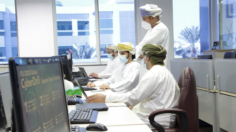 Oman Holds Visual Exercise On International Cybersecurity