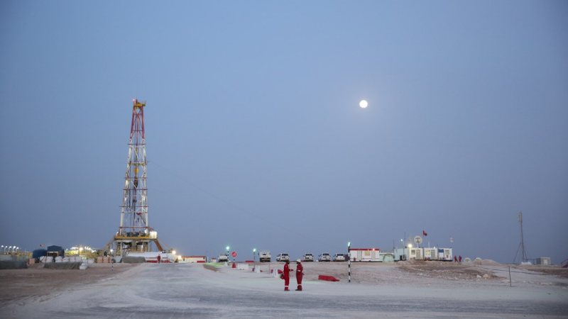 Ghazeer Gas Field Commences Production Ahead Of Schedule