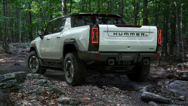 HUMMER Makes A Comeback With 1000 Horsepower... And As An Electric Vehicle