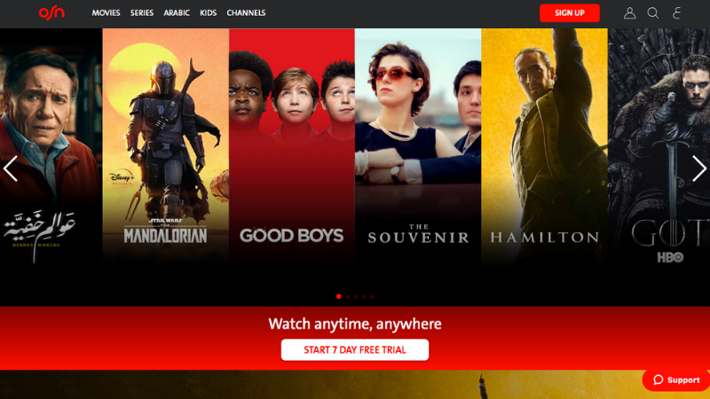 Top 5 TV Streaming Services In The GCC