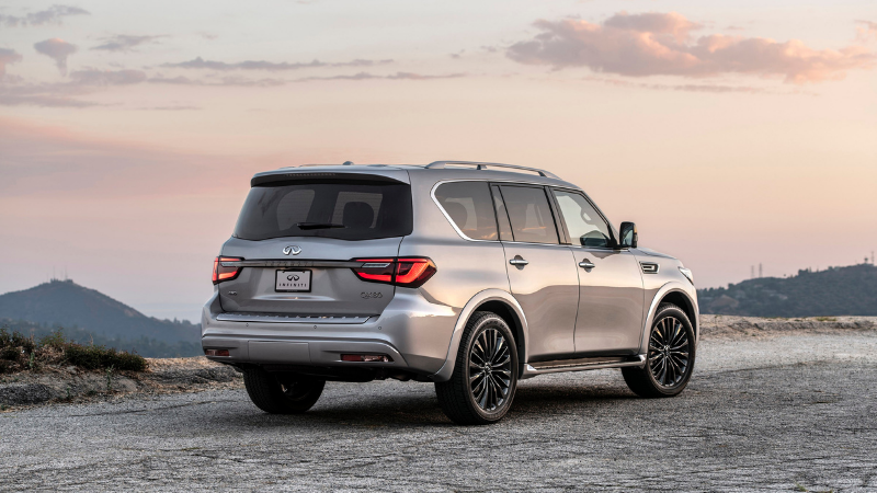 INFINITI Oman Launches Refreshed 2021 QX80