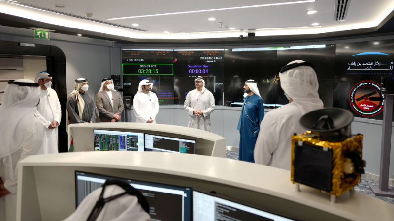 UAE Makes History As The First Arab Nation – And Fifth In The World – To Reach Mars